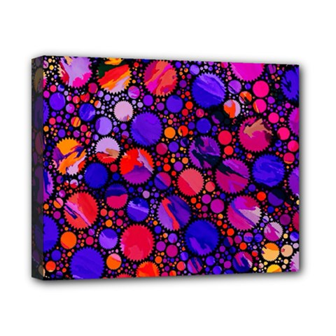 Lovely Allover Hot Shapes Canvas 10  X 8