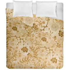 Flower Pattern In Soft  Colors Duvet Cover (double Size) by FantasyWorld7
