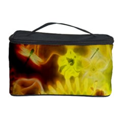 Glowing Colorful Flowers Cosmetic Storage Cases by FantasyWorld7