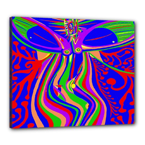 Transcendence Evolution Canvas 24  X 20  by icarusismartdesigns