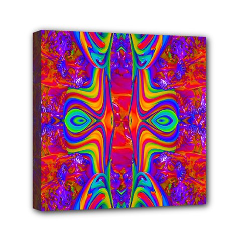 Abstract 1 Mini Canvas 6  X 6  by icarusismartdesigns