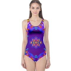 Abstract 2 Women s One Piece Swimsuits by icarusismartdesigns