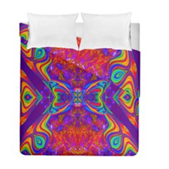 Butterfly Abstract Duvet Cover (twin Size) by icarusismartdesigns
