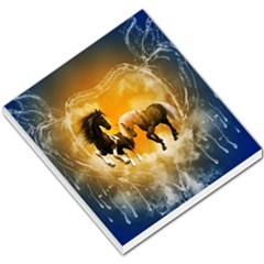 Wonderful Horses Small Memo Pads by FantasyWorld7