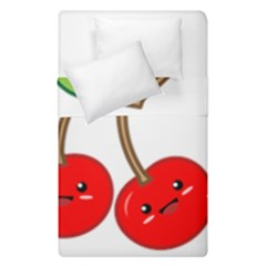 Kawaii Cherry Duvet Cover (single Size)