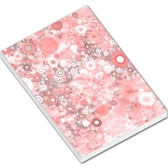 Lovely Allover Ring Shapes Flowers Large Memo Pads