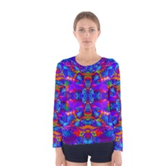 Abstract 4 Women s Long Sleeve T Shirts