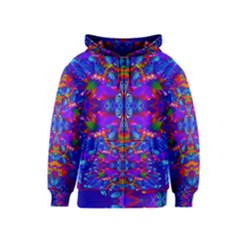 Abstract 4 Kids Zipper Hoodies by icarusismartdesigns