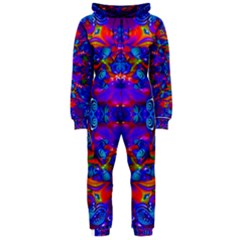 Abstract 4 Hooded Jumpsuit (ladies)  by icarusismartdesigns