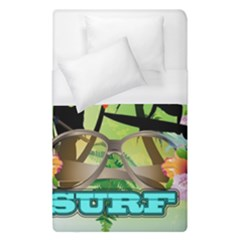 Surfing Duvet Cover Single Side (single Size) by FantasyWorld7