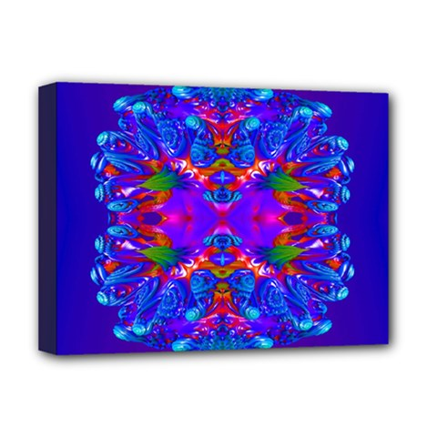 Abstract 5 Deluxe Canvas 16  X 12   by icarusismartdesigns