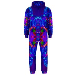Abstract 5 Hooded Jumpsuit (men)  by icarusismartdesigns