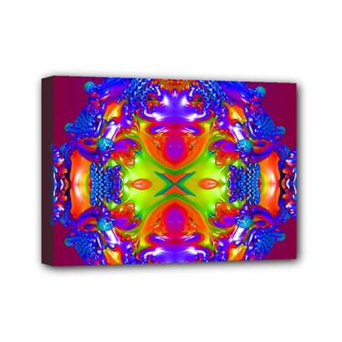 Abstract 6 Mini Canvas 7  X 5  by icarusismartdesigns