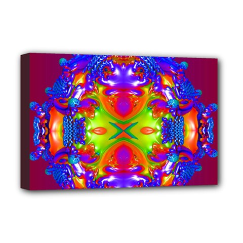 Abstract 6 Deluxe Canvas 18  X 12   by icarusismartdesigns