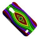Colorful symmetric shapes Samsung Galaxy S4 Mini (GT-I9190) Hardshell Case  View5