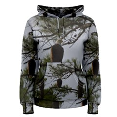 Bald Eagle 4 Women s Pullover Hoodies by timelessartoncanvas