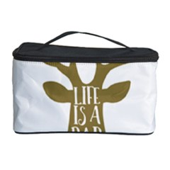 Life Is A Party Buck Deer Cosmetic Storage Cases