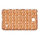 Orange And White Owl Pattern Samsung Galaxy Tab 4 (7 ) Hardshell Case  View1