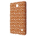 Orange And White Owl Pattern Samsung Galaxy Tab 4 (7 ) Hardshell Case  View2