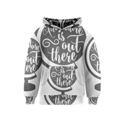 Adventure Is Out There Kid s Pullover Hoodies by CraftyLittleNodes