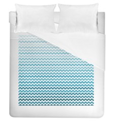 Perfectchevron Duvet Cover Single Side (full/queen Size)