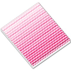 Pink Gradient Chevron Small Memo Pads by CraftyLittleNodes