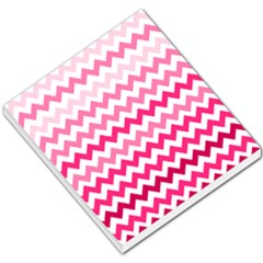 Pink Gradient Chevron Large Small Memo Pads