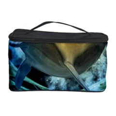 Funny Dolphin In The Universe Cosmetic Storage Cases