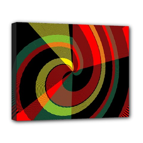 Spiral Deluxe Canvas 20  X 16  (stretched)