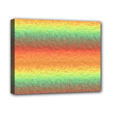 Gradient Chaos Canvas 10  X 8  (stretched) by LalyLauraFLM