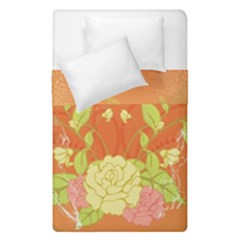 Beautiful Flowers In Soft Colors Duvet Cover (single Size)