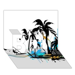 Surfing Boy 3d Greeting Card (7x5) by EnjoymentArt