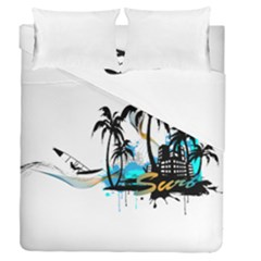 Surfing Duvet Cover (full/queen Size)