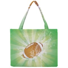 American Football  Tiny Tote Bags by FantasyWorld7