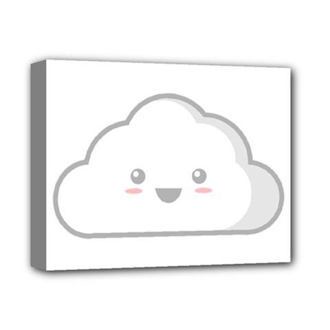 Kawaii Cloud Deluxe Canvas 14  X 11  by KawaiiKawaii