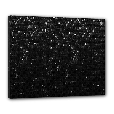 Crystal Bling Strass G283 Canvas 20  X 16  by MedusArt