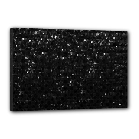 Crystal Bling Strass G283 Canvas 18  X 12  by MedusArt