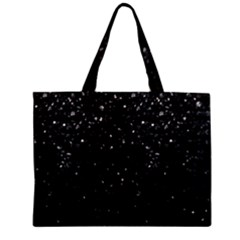 Crystal Bling Strass G283 Zipper Tiny Tote Bags by MedusArt