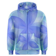 Abstract Lotus Flower 1 Men s Zipper Hoodies by MedusArt