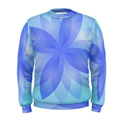 Abstract Lotus Flower 1 Men s Sweatshirts by MedusArt