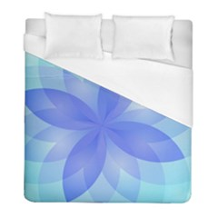 Abstract Lotus Flower 1 Duvet Cover Single Side (twin Size) by MedusArt