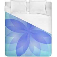 Abstract Lotus Flower 1 Duvet Cover Single Side (double Size) by MedusArt
