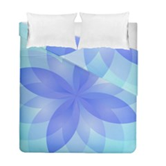 Abstract Lotus Flower 1 Duvet Cover (twin Size) by MedusArt