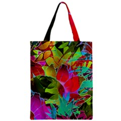 Floral Abstract 1 Classic Tote Bags by MedusArt