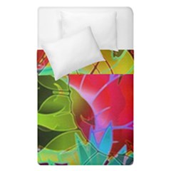 Floral Abstract 1 Duvet Cover (single Size) by MedusArt