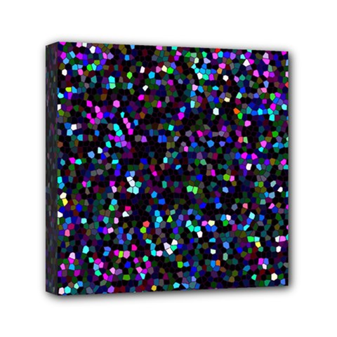 Glitter 1 Mini Canvas 6  X 6  by MedusArt