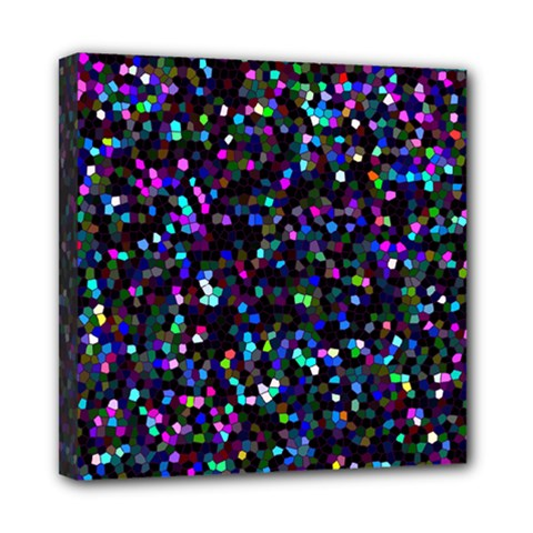 Glitter 1 Mini Canvas 8  X 8  by MedusArt