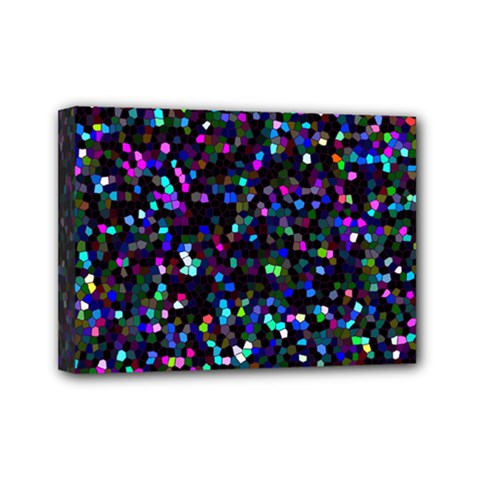 Glitter 1 Mini Canvas 7  X 5  by MedusArt