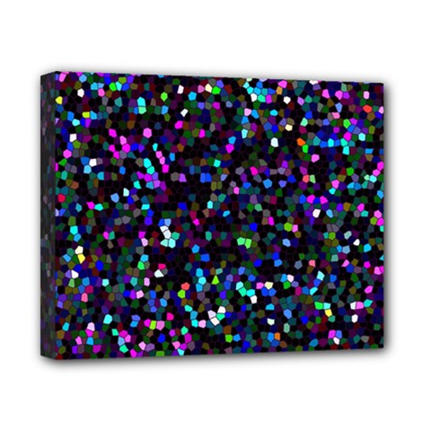 Glitter 1 Canvas 10  X 8  by MedusArt