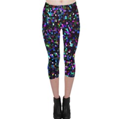 Glitter 1 Capri Leggings by MedusArt